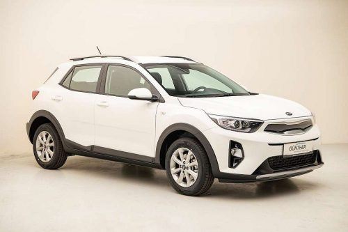 KIA Stonic 1,25 MPI ISG Silber bei Auto Günther in